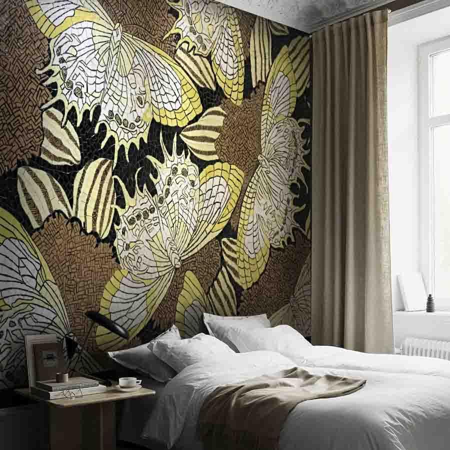 Tranh mosaic trang trí phòng ngủ